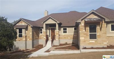 New Braunfels Single Family Home For Sale: 263 Legacy Hills