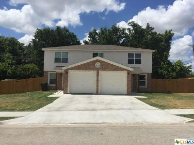 Killeen Single Family Home For Sale: 100 Kings Court #A & B