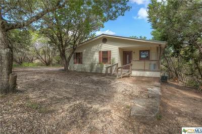 Canyon Lake Single Family Home For Sale: 605 Canyon Edge
