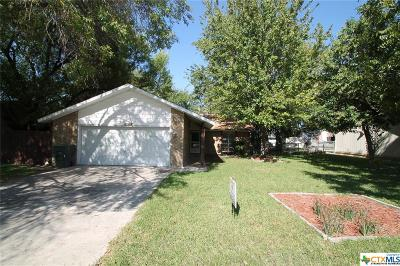 Killeen Single Family Home For Sale: 1003 West Lane