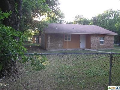 Harker Heights Single Family Home For Sale: 404 N Ann Boulevard
