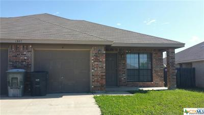 Harker Heights, Killeen, Temple Rental For Rent: 1307 Nicholas Circle #B