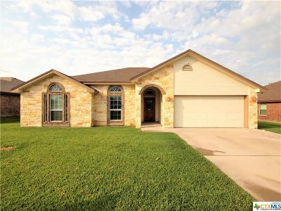 Copperas Cove Single Family Home For Sale: 3405 Dalton