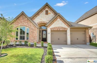 Seguin Single Family Home For Sale: 2125 Pioneer Pass