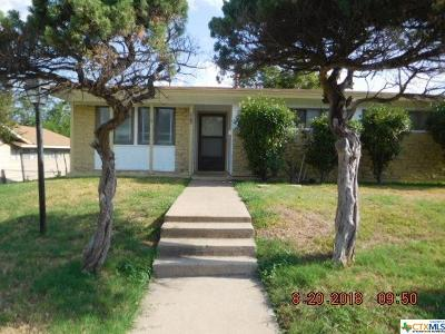 Harker Heights, Killeen, Temple Rental For Rent: 1813 Crestridge Drive
