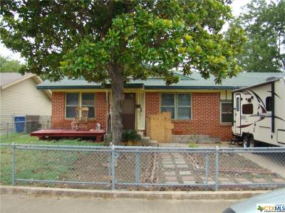 Copperas Cove Single Family Home For Sale: 706 S 1st