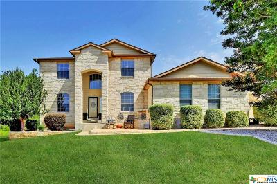 Harker Heights Single Family Home For Sale: 100 Riata Circle Circle