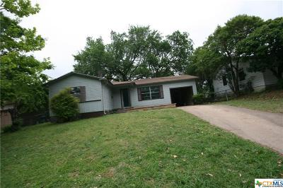 Killeen Single Family Home For Sale: 1504 Redondo Drive