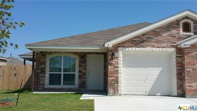 Harker Heights, Killeen, Temple Rental For Rent: 3808 John Chisholm Loop #A