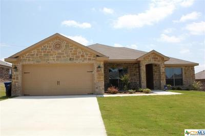 Copperas Cove Single Family Home For Sale: 2002 Jesse