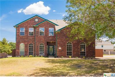 Harker Heights Single Family Home For Sale: 2407 Creek