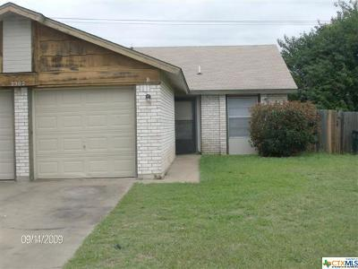Harker Heights, Killeen, Temple Rental For Rent: 2302-A Shoemaker