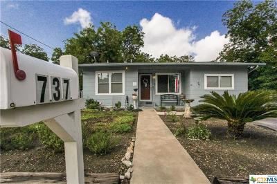 New Braunfels Single Family Home For Sale: 737 N Central