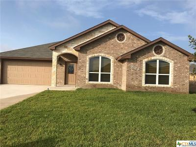 Harker Heights, Killeen, Temple Single Family Home For Sale: 803 Kacie