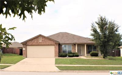 Killeen Single Family Home For Sale: 5709 Mosaic Trail