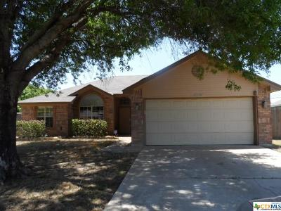 Killeen Single Family Home For Sale: 4704 Fawn