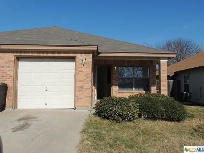 Harker Heights, Killeen, Temple Rental For Rent: 933 Rosewood Drive #B