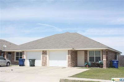 Copperas Cove Single Family Home For Sale: 2910 Starlight Drive