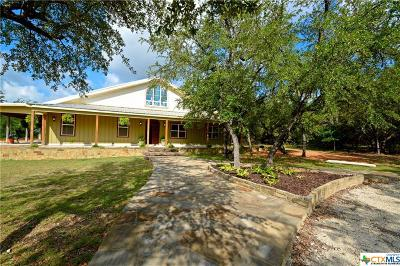 Lampasas Single Family Home For Sale: 2701 County Road 1045