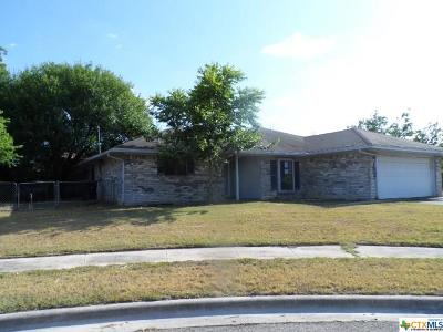 Killeen Single Family Home For Sale: 1802 Camilla