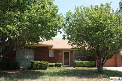 Copperas Cove Single Family Home For Sale: 410 Mesquite Circle