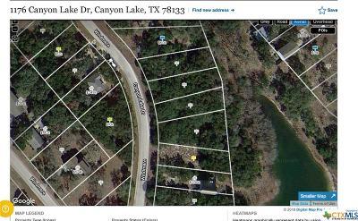 Canyon Lake Residential Lots & Land For Sale: 1176 Canyon Lake Drive