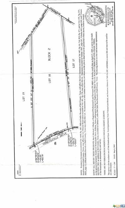 Killeen Residential Lots & Land For Sale: 5.68 Acres Honeysuckle