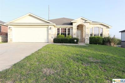 Harker Heights Single Family Home For Sale: 119 W Running Wolf Trail