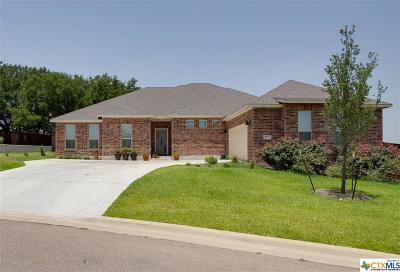 Harker Heights, Nolanville Single Family Home For Sale: 8004 Ridgeway Court