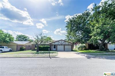 Copperas Cove Single Family Home For Sale: 2009 Dennis