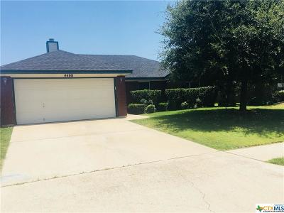Killeen TX Single Family Home For Sale: $124,900