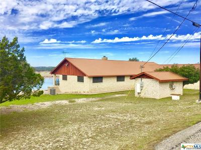 Canyon Lake Single Family Home For Sale: 800 Military