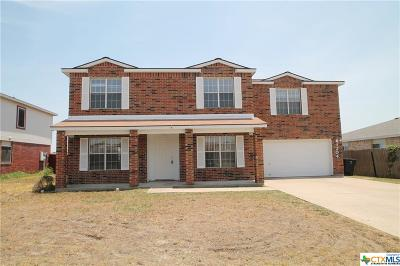Killeen Single Family Home For Sale: 4204 Rainlily