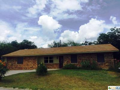 Lampasas Single Family Home For Sale: 107 N Fairview