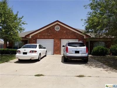 Killeen Single Family Home For Sale: 4506 July Drive