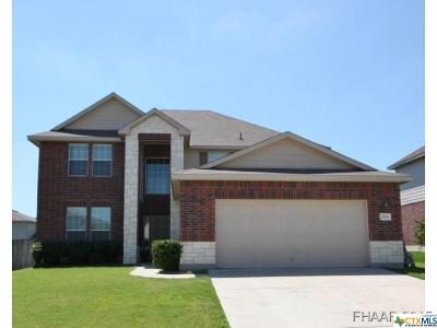 Harker Heights Single Family Home For Sale: 2604 White Moon