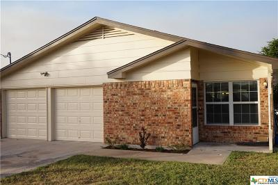 Killeen Single Family Home For Sale: 3605 Pleasing