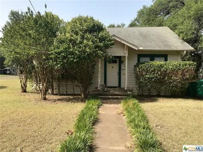 Belton Single Family Home For Sale: 113 E 8th