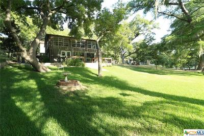 Comal County Single Family Home For Sale: 0, 8722 & 8716 River Road