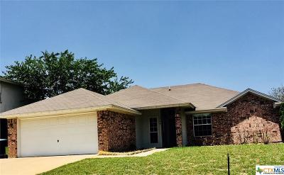 Copperas Cove Single Family Home For Sale: 1504 Judy Lane