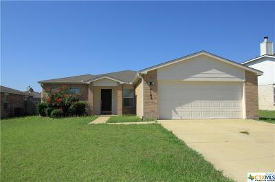 Killeen Single Family Home For Sale: 4102 Ambrose Drive