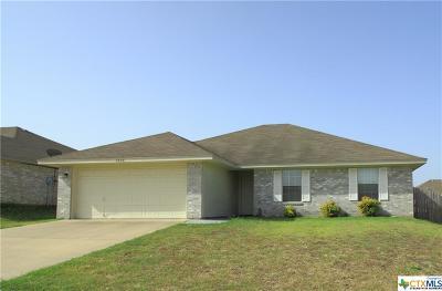Killeen Single Family Home For Sale: 2606 Bigleaf Drive