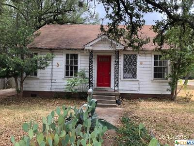 Belton TX Single Family Home For Sale: $74,900