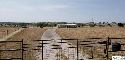 Lampasas Single Family Home For Sale: 694 Fm 1494 Fall