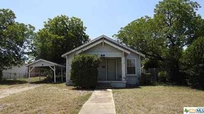 Belton Single Family Home For Sale: 610 N Blair Street