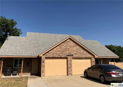 Killeen Single Family Home For Sale: 1402 Mulford #B