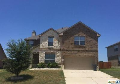 Harker Heights Single Family Home For Sale: 2606 Snow Bird Drive