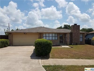 Killeen Single Family Home For Sale: 4301 River Oaks