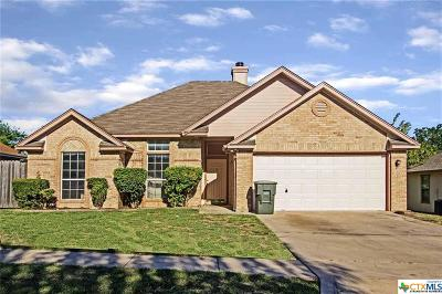 Killeen Single Family Home For Sale: 2705 Larkspur Drive