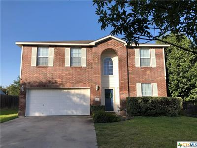 Harker Heights Single Family Home For Sale: 3009 Sun Dance Drive